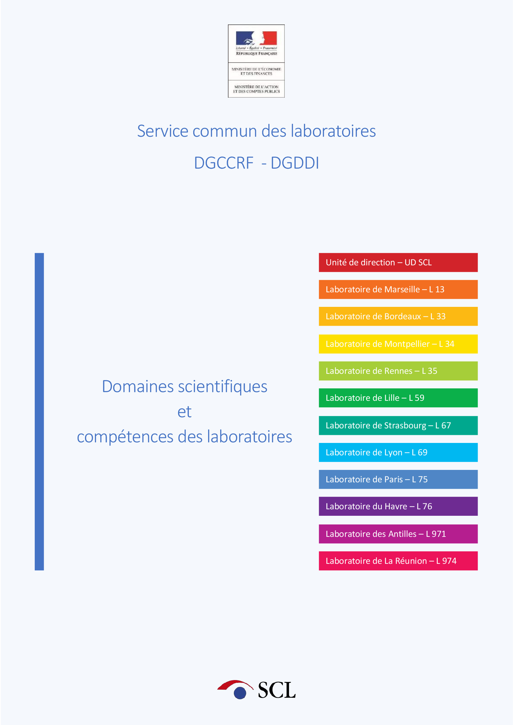 Image de Catalogue des prestations du SCL
